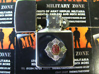 Army Military Regimental Lighter With Royal Scots On Front