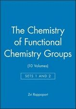 NEW The Chemistry of Functional Chemistry Groups by Zvi Rappaport Hardcover Book