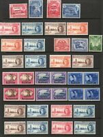 1946 Victory complete Omnibus Issue superb lightly mounted mint 164 stamps