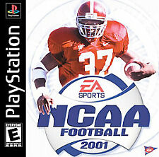 NCAA Football 2001 (Sony PlayStation 1, 2000) PS2 PS3 Complete Fast Shipping!