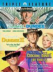 Crocodile Dundee Triple Feature (DVD, 2007, 3-Disc Set) NEW