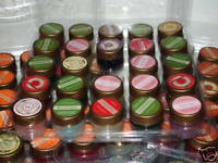 Lot of 28 Different Scents Gold Canyon Candle Sample Jars Pots Pods 28 scents