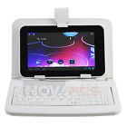 """USB Keyboard Leather Case Smart Cover Bag Stylus Pen For WM8650 7"""" Tablet PC MID"""