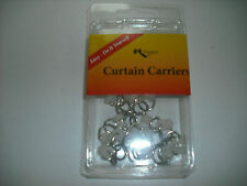 RV - Drapery Hardware - 2 Wheel Curtain Carriers w/ Rings Only - Pack of 14