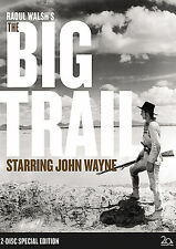THE BIG TRAIL - GREAT 2DVD SLIPCASED SET OF JOHN WAYNE's 1st BIG STARRING ROLE !