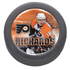 Philadelphia Flyers Mike Richards Domed Collectors NHL Puck By Wincraft