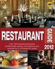 Restaurant Guide 2012 (Aa Lifestyle Guides), 0749570733, Very Good Book