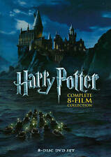 Harry Potter: Complete 8-Film Collection (DVD, 2011, 8-Disc Set) Free Shipping.