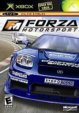 Original Microsoft FORZA MOTORSPORT (Xbox, 2005) BRAND NEW SEALED PACKAGE. NTSC