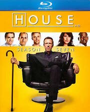 House MD ~ Complete 7th Seventh Season 7 Seven ~ NEW 5-DISC BLU-RAY SET