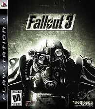 Fallout 3 (Sony PlayStation 3, 2008) *COMPLETE*
