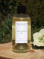 250ml ORGANIC Sweet Almond Oil