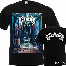 """NEW T-SHIRT """"MORTICIAN-HACKED UP FOR BARBECUE"""" DTG PRINTED TEE- S- 6XL"""