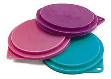 Pet Food Can Tin Cover Lid Flexible Kitchen Storage Tops Reusable Plastic 3 pack