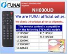 (NEW) REMOTE CONTROL UNIT / SYLVANIA / NH000UD