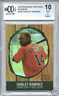 HANLEY RAMIREZ Red Sox 2003 Bowman Heritage Rainbow rookie BGS BCCG 10 MINT !!