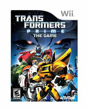 Transformers Prime The Game Wii  Brand New - In Stock - Fast Ship