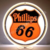 PHILLIPS 66 GASOLINE & OIL GAS PUMP GLOBE  FREE S&H