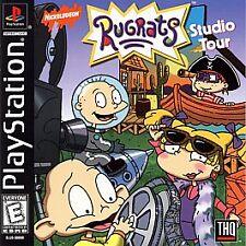 Rugrats: Studio Tour (Sony PlayStation 1, 1999)PS2 PS3 Complete (Tested: Works)