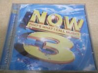 NOW THAT'S WHAT I CALL MUSIC 3  ISRAEL CD ONLY , HEBREW BOOKLET