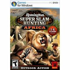 Remington Super Slam Hunting: Africa PC-CD for Windows XP/Vista/Windows 7! New!