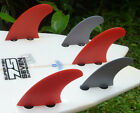 (ST-3/SF-4 Style Combo Set) New FCS Compatible Fibreglass Surfboard Indo Fins