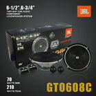 "NEW JBL 6.5"" GTO608C 210W 2-Way Car Component Speaker Set"
