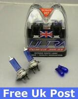 A Pair of H7 Ultra Power Xenon Ice blue Bulbs for FORD COUGAR 97-01