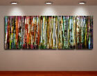 Metal Modern Abstract Wall Art Original painting Large Contemporary sign