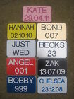 NUMBER PLATES FOR LITTLE TIKES CLASSIC COZY COUPE 30TH ANNIVERSARY - ENGRAVED