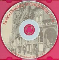 CHESHIRE   1914   -   KELLY's    DIRECTORY   -   Genealogy   CD