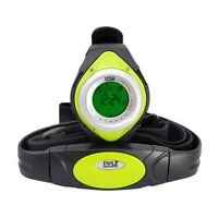NEW Pyle PHRM38GR Heart Rate Monitor Watch, Calorie Counter & Target Zones