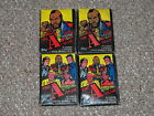 1983 Topps A-Team Trading Cards Lot of 4 Sealed Packs New Wax Pack Card