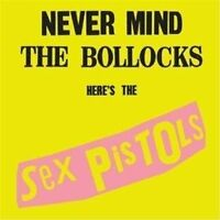 Sex Pistols Never Mind the Bollocks Here's the 2012 New Sealed