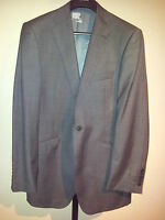 M&S Autograph - GREY single-breasted SUIT-JACKET - 40 L / long - NEW £120