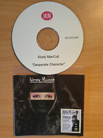 KIRSTY MacCOLL ~'Desperate Character'~ UK PROMO ONLY  Remastered CD 2012~NEW