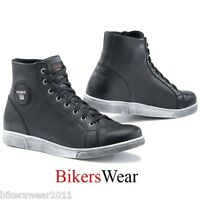 TCX X-STREET Black Shoes Leather Waterproof All Uses Line Boots all sizes