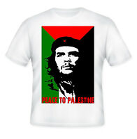 CHE GUEVARA -  PEACE TO PALESTINE - NEW AMAZING GRAPHIC T-SHIRT - S-M-L-XL-XXL