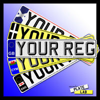 High Quality Car number plates and show plates