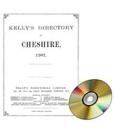 Kelly's Directory of Cheshire, 1902  (CD)