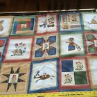 Flannel THE McCOYS fabric for sewing quilting BEARS OVERSIZED BLOCKS Northcott