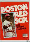 1979 BOSTON RED SOX OFFICIAL YEARBOOK