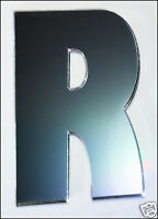 Letter R Shatterproof Mirrors 5cm Letters Alphabet Safety Acrylic