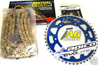 Yamaha YZ 250 99-08 Renthal 520 O-Ring Chain & Sprocket Set 13T 49T Blue
