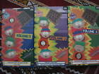 SOUTH PARK - VOLUME 1, 2 and 3 - VHS