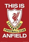 NEW liverpool fc this is anfield LFC poster sp00041