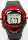 Hot Calorie Counter Pulse Heart Rate Monitor Stop Watch Red