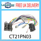 CT21PN03 16 PIN TO ISO REPLACEMENT LEAD LOST HEADUNIT POWER