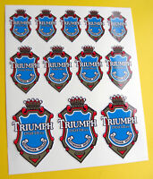 TRIUMPH style Vintage Cycle Bike Frame Decals Stickers