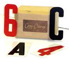 New 6 Inch Plastic Changeable Letter Set 4 Outdoor Sign